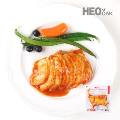 프레시 슬라이스 닭가슴살 핫스파이시커리맛 100g 1+1