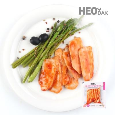 프레시 슬라이스 닭가슴살 칠리맛 100g 1+1