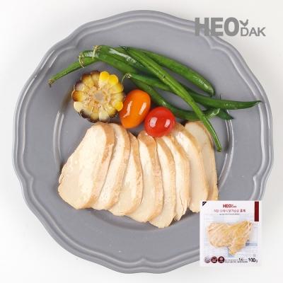 프레시 슬라이스 닭가슴살 훈제맛 100g 1+1
