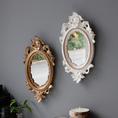 로렌 골드 거울 (소) - 2color_(2724937)