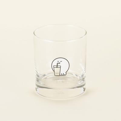 모우모우 유리컵
