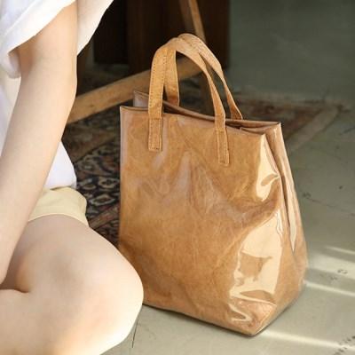 Crumple pvc tote bag_S_(1343468)