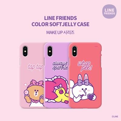 LINE FRIENDS정품 컬러 소프트 젤리 MAKE-UP 시리즈