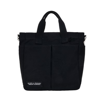 VIAMONOH DAILY TUMBLER BAG (BLACK) 에코백 토트백 크_(1049047)
