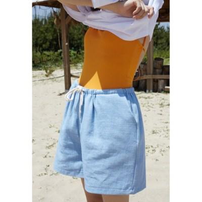 eazy banding shorts (2colors)_(1343063)