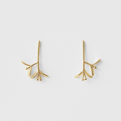 orchid earrings (2colors)