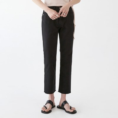 simple semi boots pants (s, m)_(1278033)
