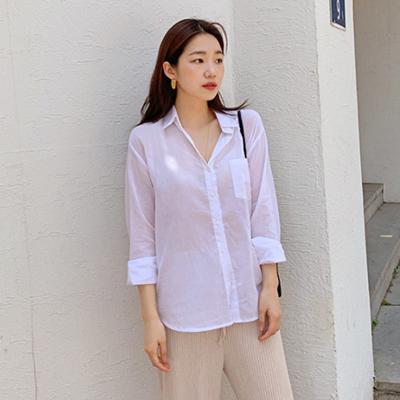 Cool gauze cotton shirts_B_(1343479)