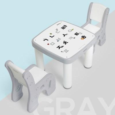 아이팜 All new 마시멜로 책상의자 한글 유아책상