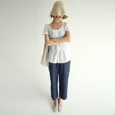 linen wide denim pants (3colors)_(1280506)