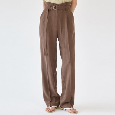 belt usual linen slacks (s, m)_(1280534)