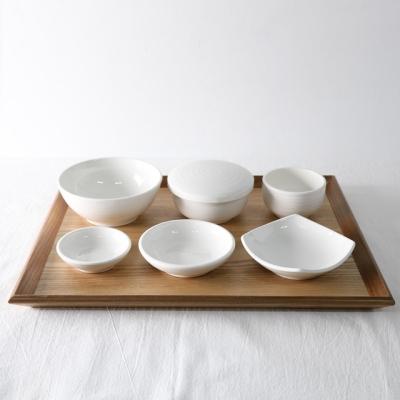 백자 1인 혼밥 그릇세트 7p