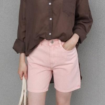 Minimal cotton pants