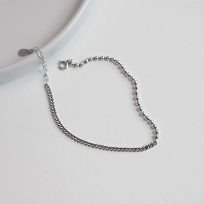 볼앤체인팔찌 (silver925)
