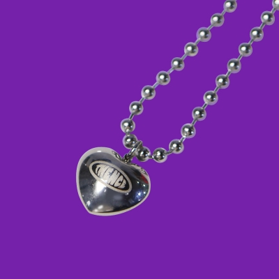 BALL CHAIN NECKLACE_HEART