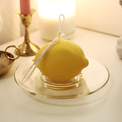 레몬캔들(가로형) / 과일캔들