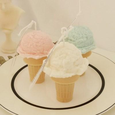 소르베 아이스크림 캔들