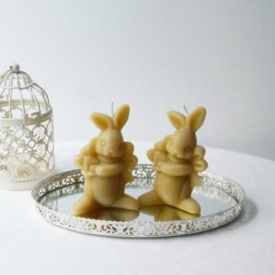 [Honey Bees Candle] 토끼 밀랍초