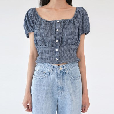 looming puff crop blouse_(1281542)