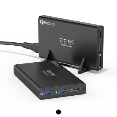 USB-PD 퀵차지3.0 2포트 C타입 컴팩트 고속멀티충전기_(2258866)