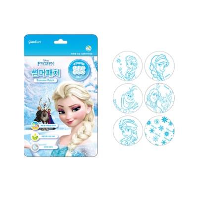 디즈니 글랜큐어 썸머패치 겨울왕국 24매입