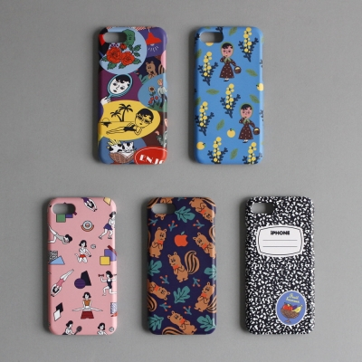 SNAP PHONE CASE 5종 (아이폰&갤럭시)