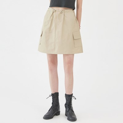FRESH A string mini skirt_(1282762)