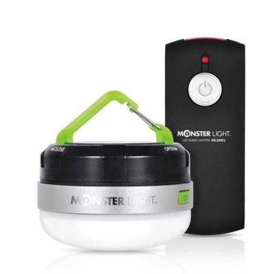 몬스터라이트 LED 캠핑등 무선리모컨 돔랜턴 실내등 취침등 이너등
