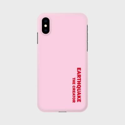 어스퀘이크 핸드폰 케이스 핑크