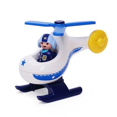 플레이모빌 1.2.3 경찰 헬리콥터(9383)