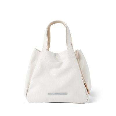 CLOVER TOTE 750 CANVAS WHITE_(667735)