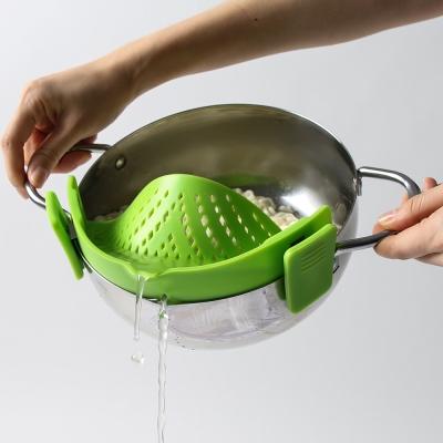 실리콘 키친 주방용품 냄비 채반 스트레이너_(1129309)