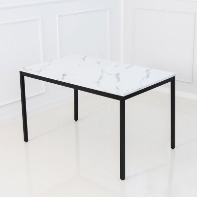 마블 4인 식탁 테이블 마블 대리석st 화이트마블