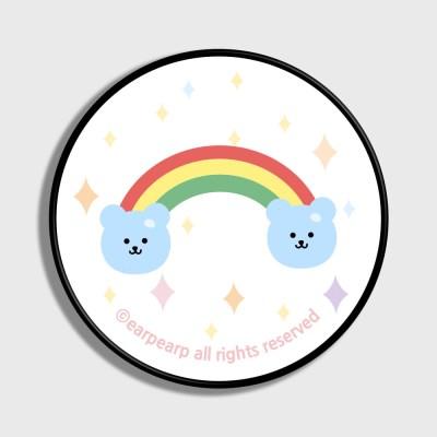 Rainbow bear-white(스마트톡)_(1184135)