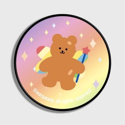 Angel bear-pink/yellow(스마트톡)