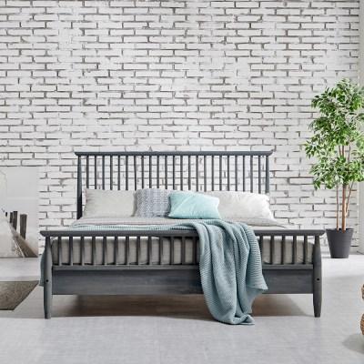 [잉카]아르보아 북유럽 모던 소나무 원목 침대 퀸사이즈 3컬러