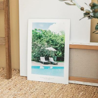 여름날 사진 포스터