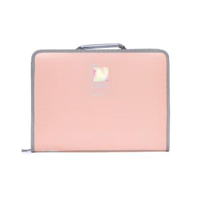 4500 홀로그램 손잡이 지퍼화일케이스(핑크)_(2621022)