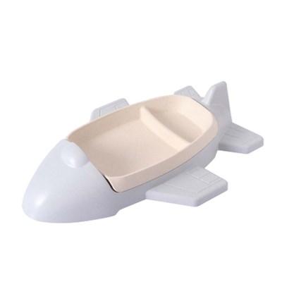 비행기 친환경 유아 간식 그릇 식기 식판 한정수량 1+1