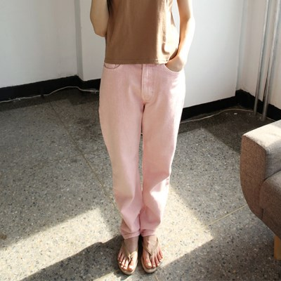 vivid colors cotton pants (4colors)_(1284758)