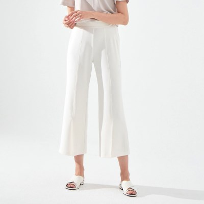 TILDA MAGIC SLIT PANTS (IVORY)