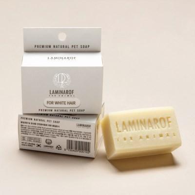 [라미나로프] 프리미엄 펫솝 백모용 소형+거품망증정