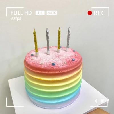 미니 스크류 생일초SET/10개입(3color)