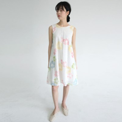 pure water painting flower dress_(1285757)