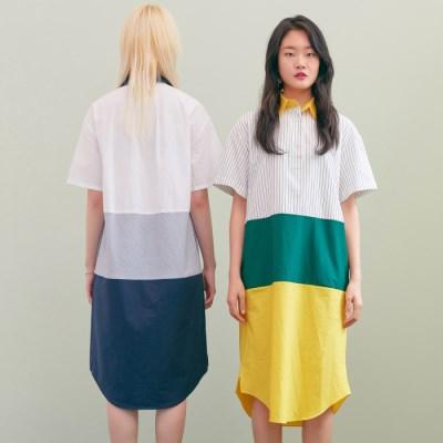 [블랭크] SHIRT LONG DRESS-YL