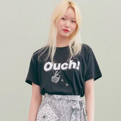[블랭크] OUCH T-BK
