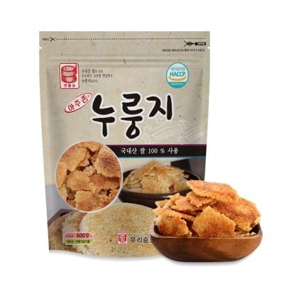 아주존 국내산 쌀로 만든 고소한 누룽지 600g_(859140)