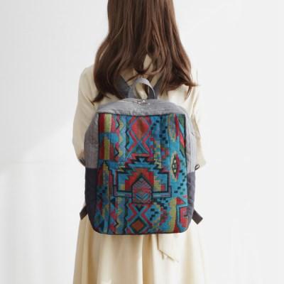 기저귀 가방 수납 백팩 블루