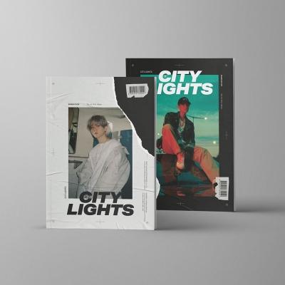 초도포스터/ 백현 - 미니1집 [City Lights] 시티라이츠