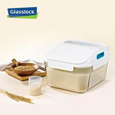 글라스락 유리쌀통 12kg